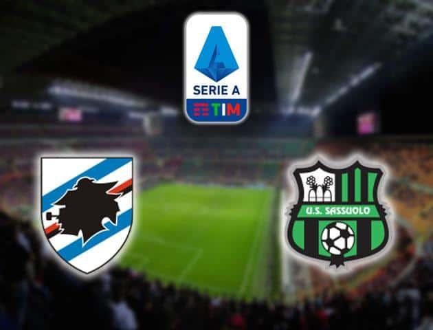 Soi kèo nhà cái Sampdoria vs Sassuolo, 26/01/2020 - VĐQG Ý [Serie A]