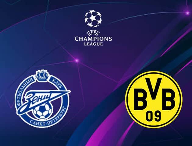Soi kèo nhà cái Zenit vs Borussia Dortmund, 09/12/2020 - Cúp C1 Châu Âu
