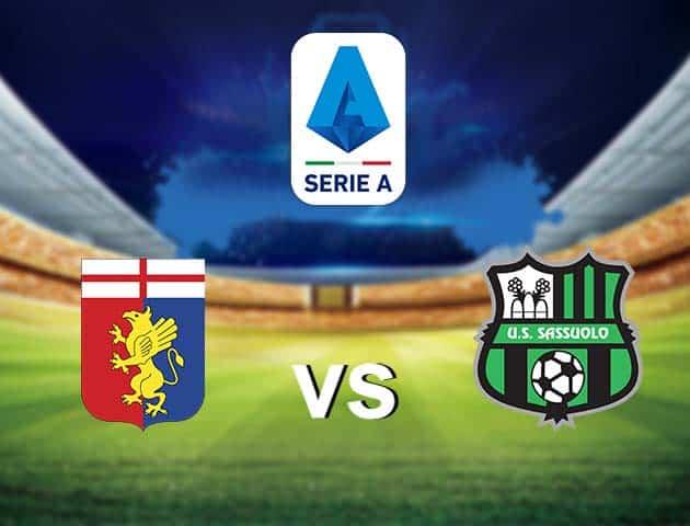 Soi kèo nhà cái Genoa vs Sassuolo, 09/05/2021 - VĐQG Ý [Serie A]