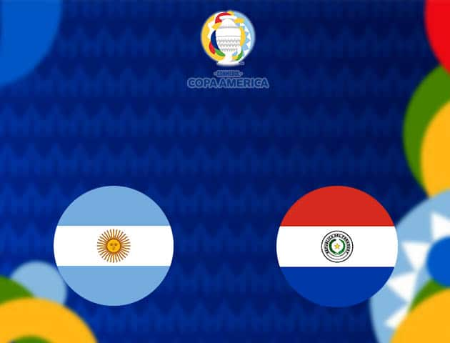Soi kèo nhà cái Argentina vs Paraguay, 22/06/2021 - Copa America