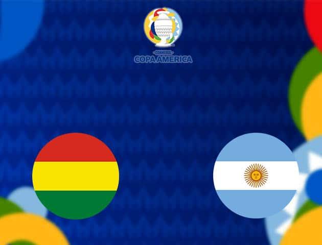 Soi kèo nhà cái Bolivia vs Argentina, 29/06/2021 - Copa America