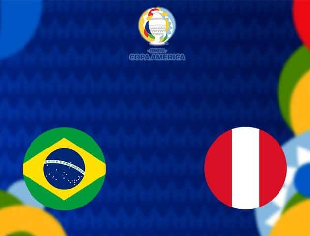 Soi kèo nhà cái Brazil vs Peru, 18/06/2021 - Copa America