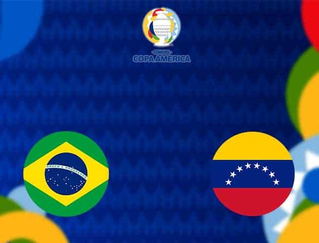Soi kèo nhà cái Brazil vs Venezuela, 15/06/2021 - Copa America