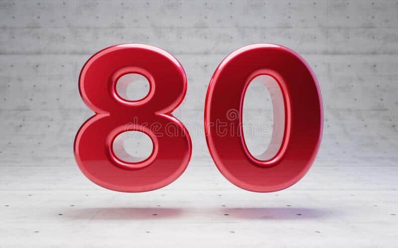 Người tuổi Thân mơ thấy số 80 và con số đổi vận