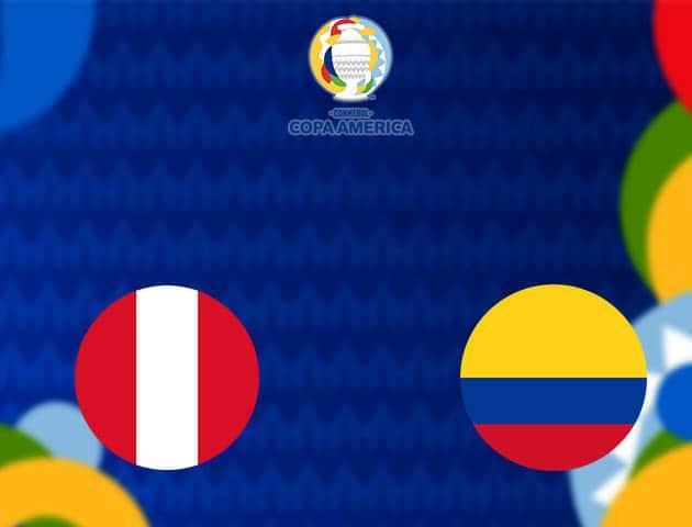 Soi kèo nhà cái Peru vs Colombia, 10/07/2021 - Copa America