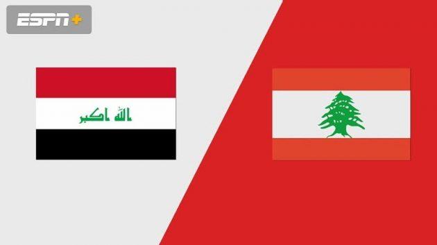 Soi keo IRAQ vs LEBANON - 7H00 Ngay 7/10